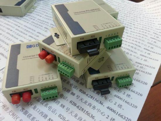 fc光纤接头转rs-232信号光纤modem